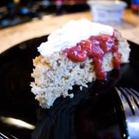 Strawberry Spelt Cake