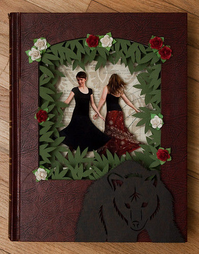 Altered Book: Rose Red & Snow White