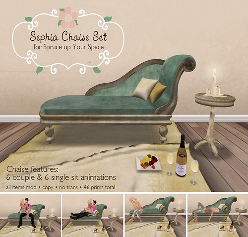 Sephia Chaise Set for SUYS