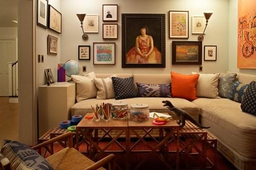 Kristen Panitch family room