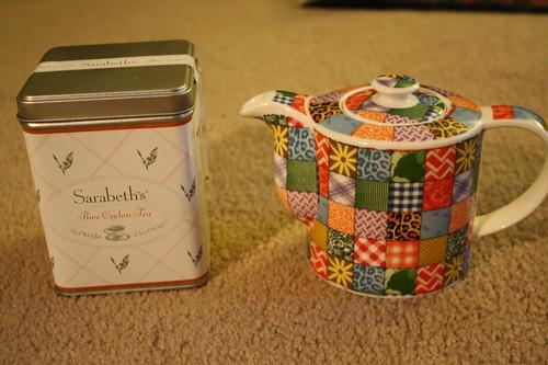Sarabeth's tea, teapot