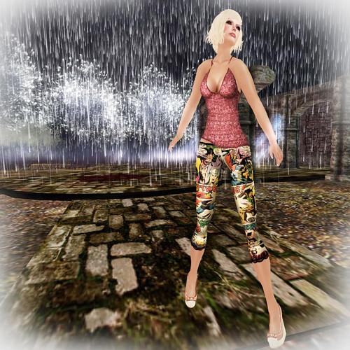 _TuttiFrutti_ Thor Capri Legging and Jewel Top @ The Deck