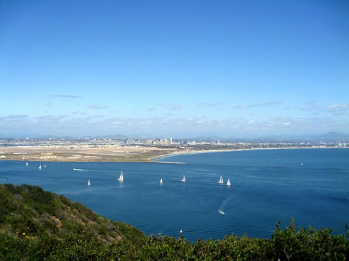 the view from cabrillo national monument