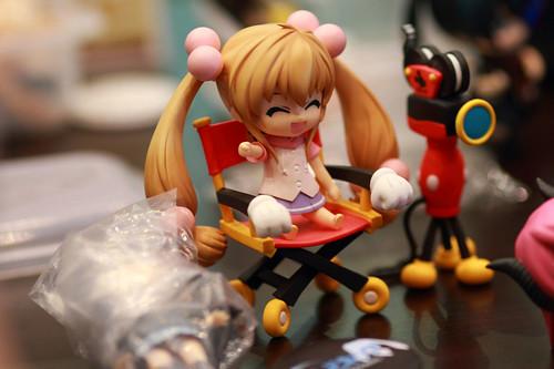 Kokonoe Rin invaded Mickey's seat