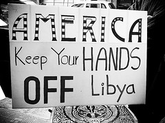 US, Keep Your Hands Off Libya