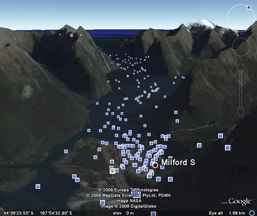 google earth milford sound 8