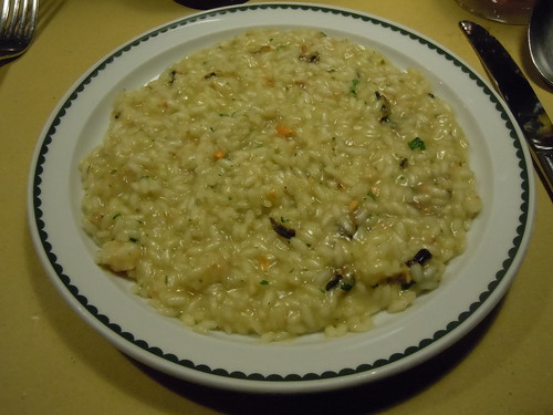 Anise Stellato seafood risotto