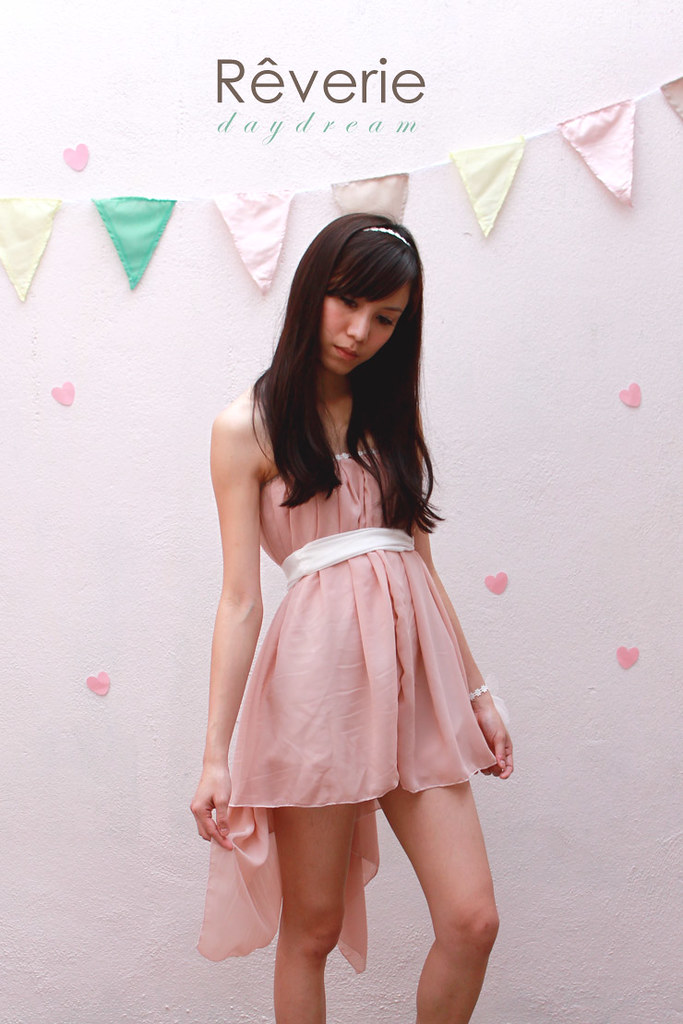 Rêverie-crochet trim dress2
