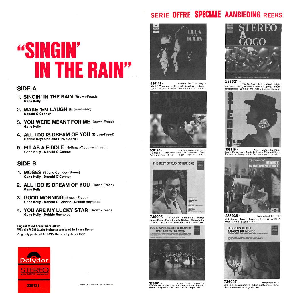 Lennie Hayton - Singin' in the Rain