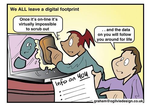 #ISRU11 - We ALL leave a digital footpri by OllieBray, on Flickr