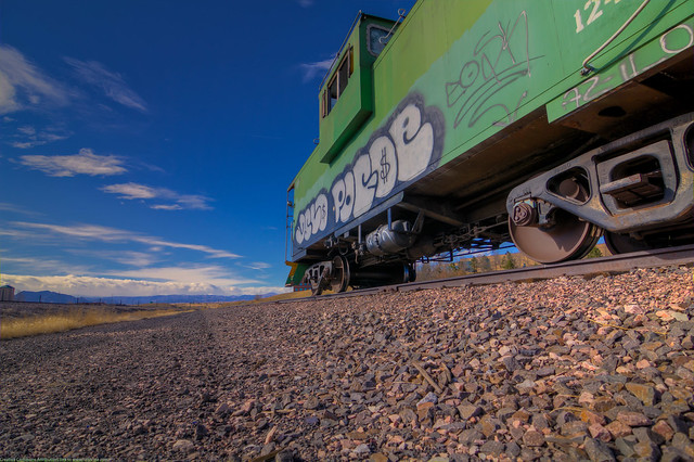 Caboose in Broomfield Colorado