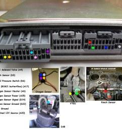 pics of completed vtec obd1 p72 ecu wiring honda tech honda obd0 to obd1 conversion wiring harness obd1 vtec wiring [ 1024 x 936 Pixel ]