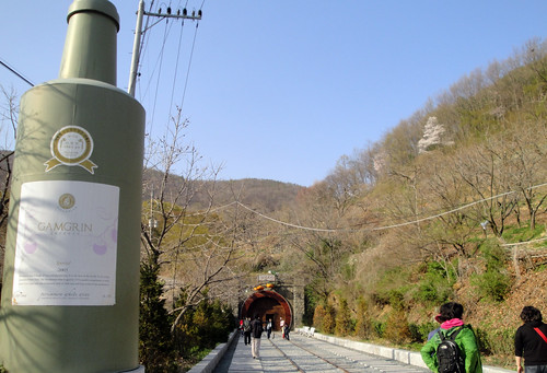 Entrance to the Cheongdo Wine Tunnel