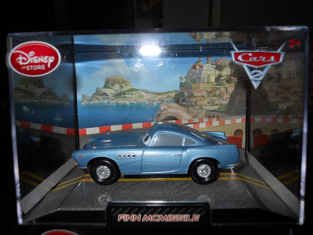 DISNEY STORE CARS 2 FINN MCMISSLE