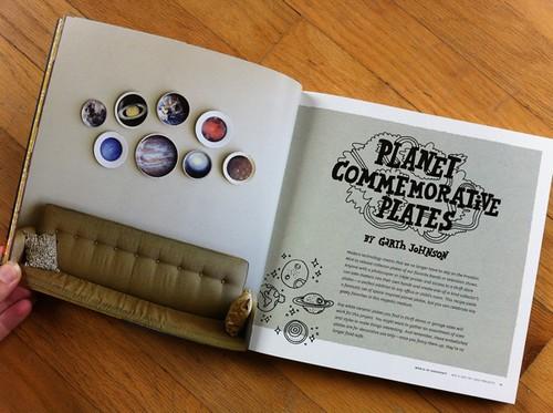 Planet Commemorative Plates by Garth Johnson