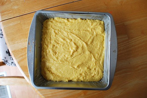 corn bread batter
