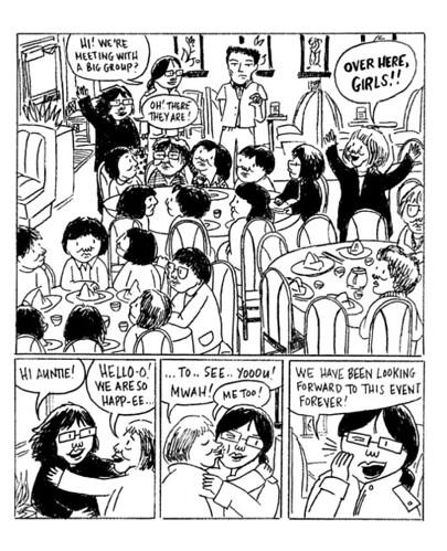 Aunties, aunties, aunties!