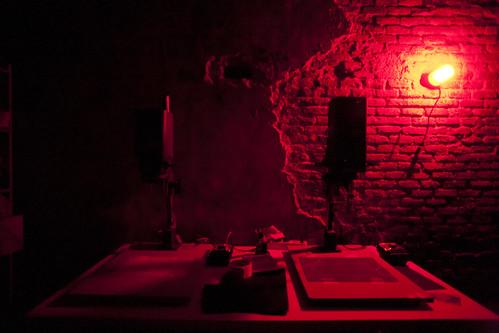 Laboratorio de foto en La Bagatela