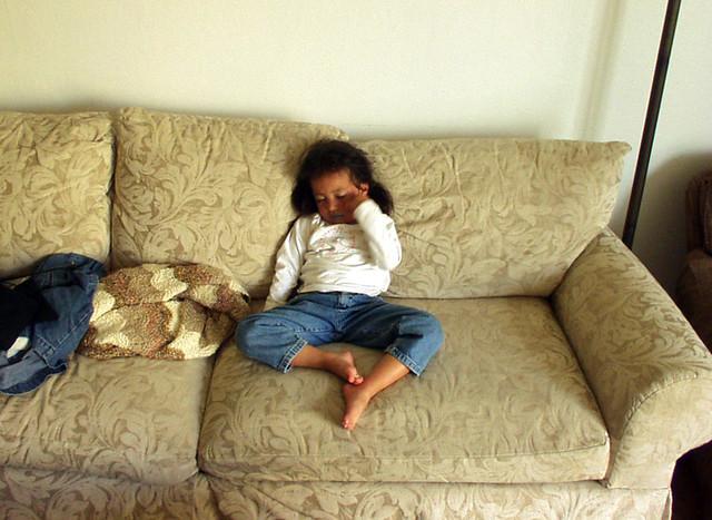 Tired Girl
