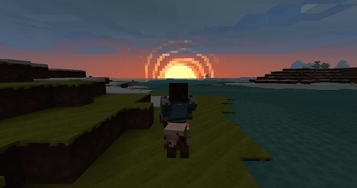 Minecraft - Pig Sunset 2