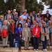 Pilgergruppe am Berg der Seeligpreisungen