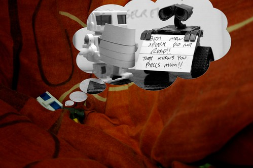 Day 244 - Do Androids Dream Of Electric Sheep? (Part 8) by ajwalters