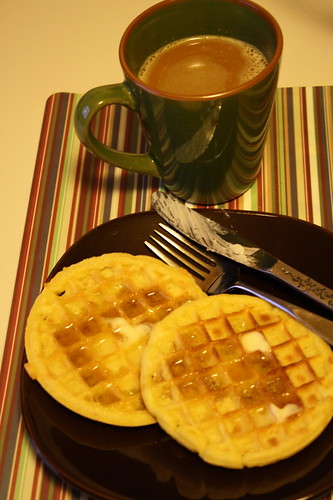 Eggo Fiber Plus waffles