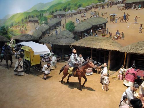 Life at a traditional Korean village