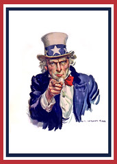 Uncle Sam I Want You - Poster No Words Centered