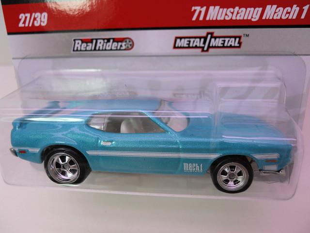 hot wheels larrys garage '71 mustang mch 1 (2)