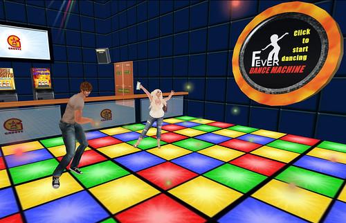 Dance fever! LOL!