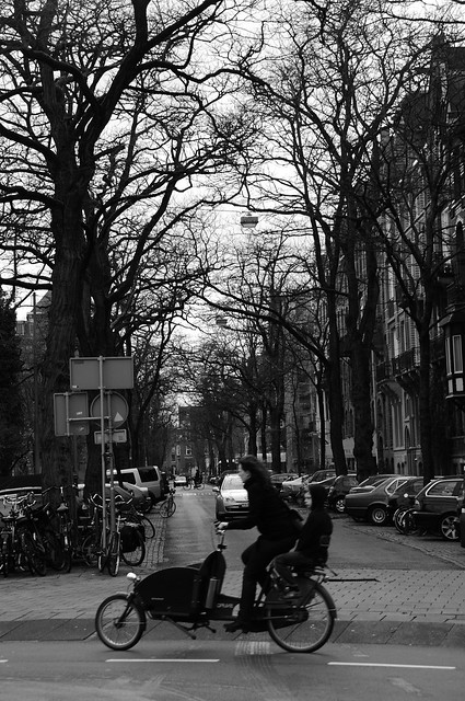 Bici con pasajero