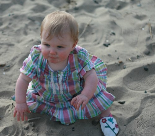Poppy in the sand!