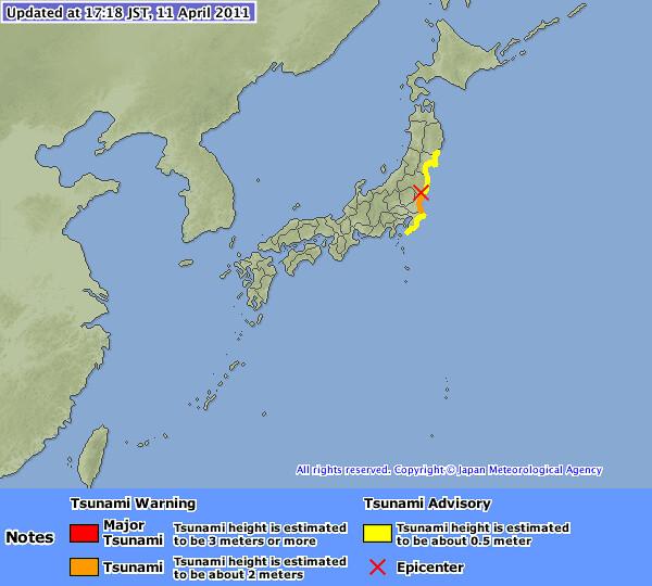 Ponovni potresi na Japonskem