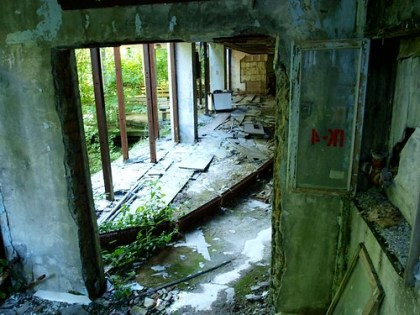 Abandoned building in Pripyat, Chernobyl