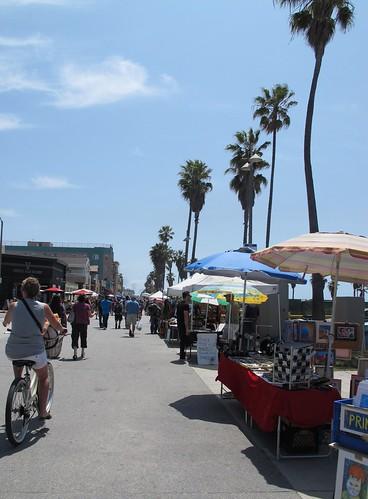 Ocean Front Walk in Venice, Los Angeles
