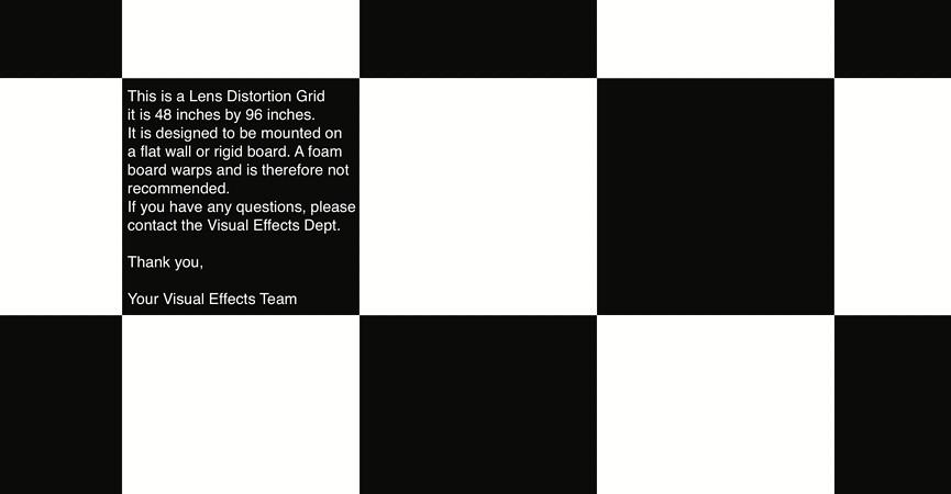 Lens Distortion Grids (pdf) for download  #vfx