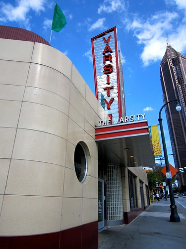 The Varsity Drive In Downtown Atlanta Exterior
