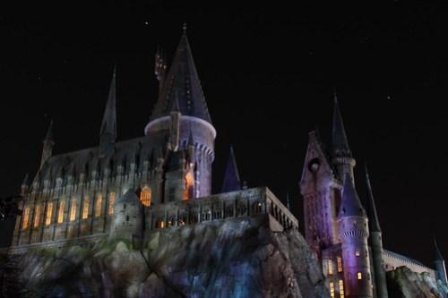Hogwarts Castle Night2