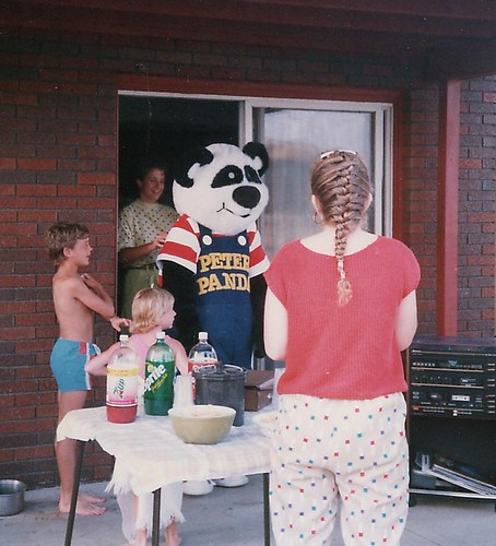 Peter Panda - Children's Palace mascot, 1989