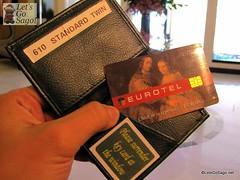 Eurotel Room Card