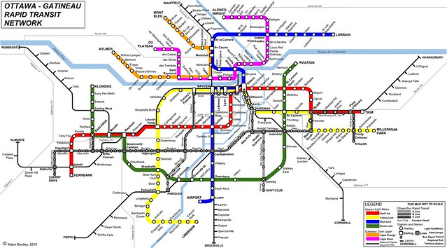 Dreaming In Colour The Story Behind Ottawa S World Class Transit