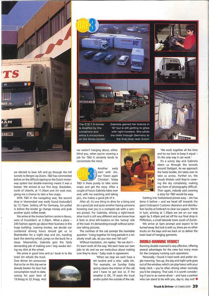 ETS - Truck & Driver - October 2000