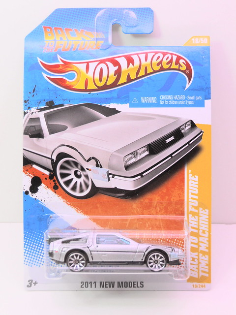 hot wheels back to the future time machine (1)