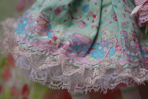Close up of the Angelic Pretty print