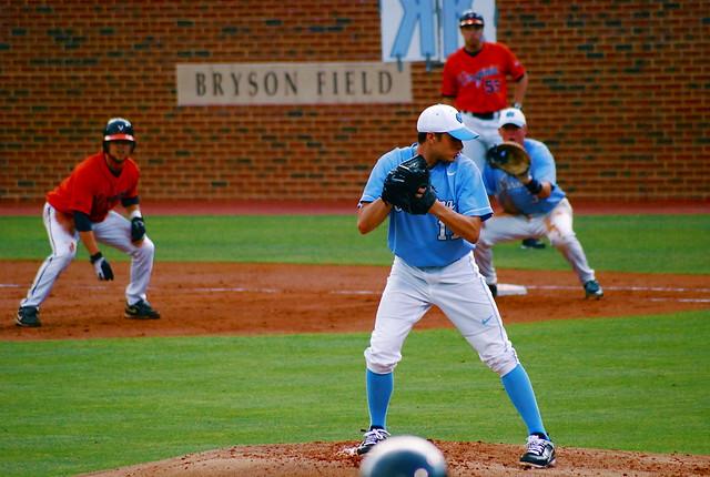 college baseball: uva @ unc, game 1