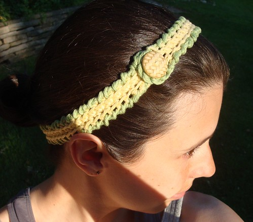 Crab Stitch Headband