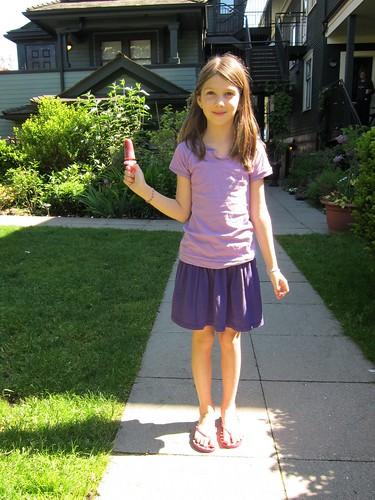 Sym & Very Cherry Popsicle