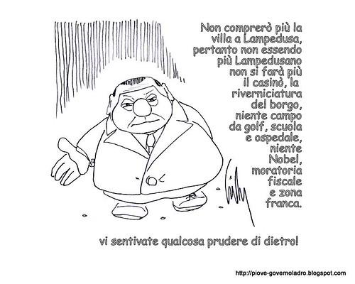 No villa, no Nobel by Livio Bonino