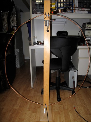 Small loop antenna for HF listening